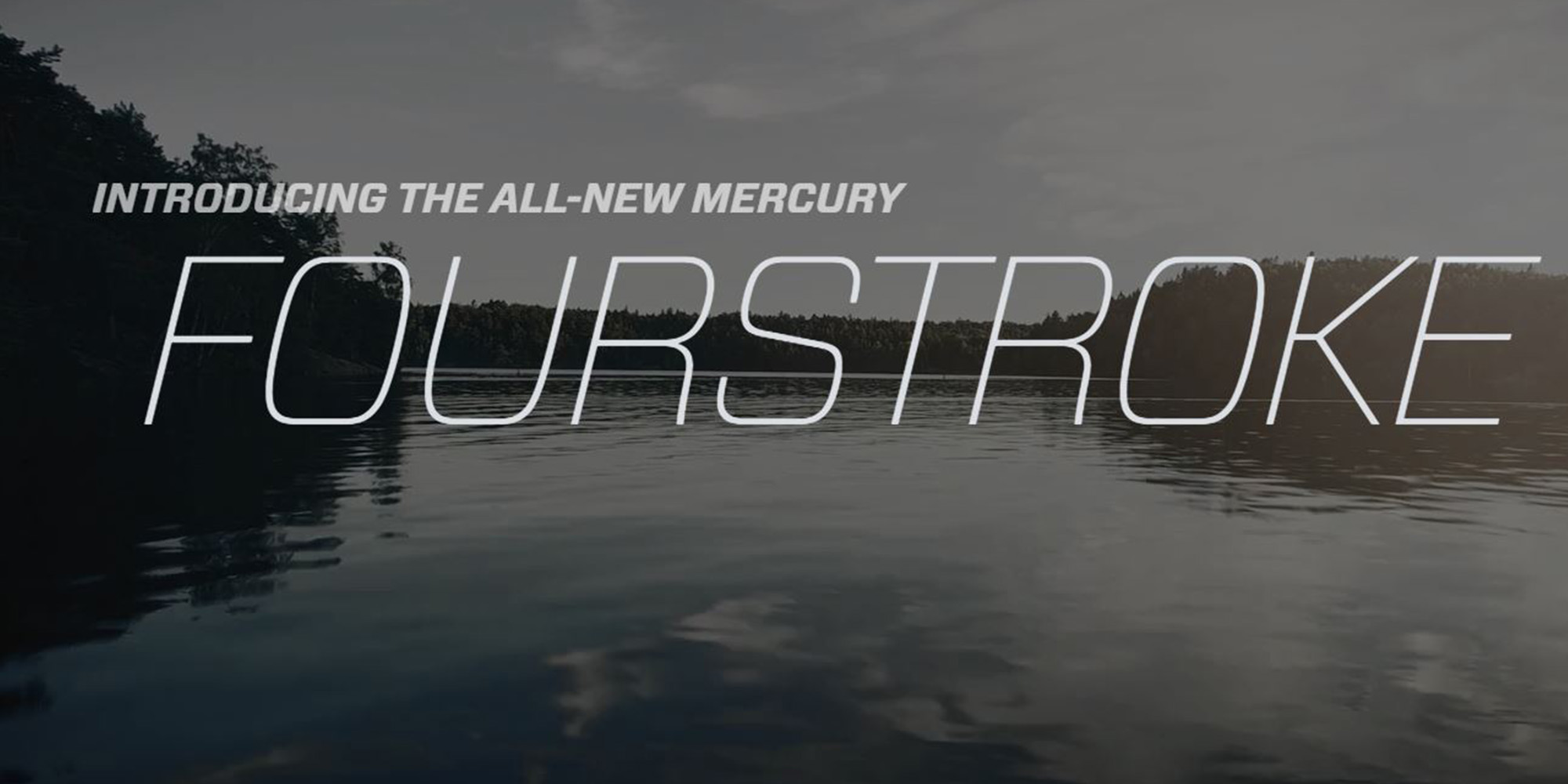 A New Era in Fourstroke! Mercury expands the V6 FourStroke