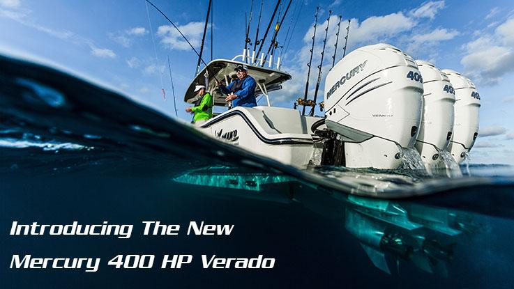 Introducing the New Mercury 400 HP Verado - Hi Tech MarineHi